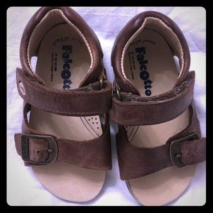 Naturino Falcotto Boys Leather Sandals size 21